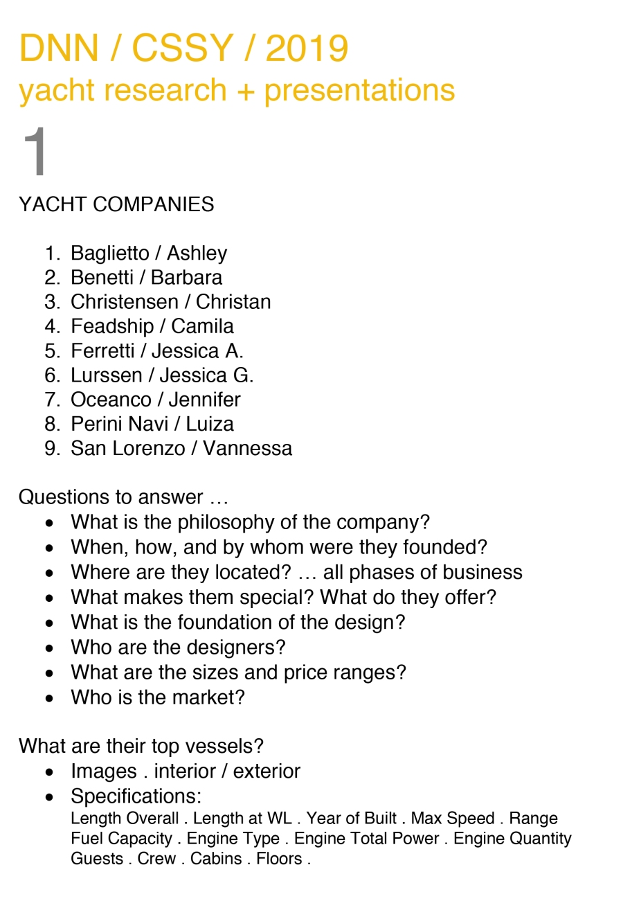 Microsoft Word - 2019 yacht research.docx